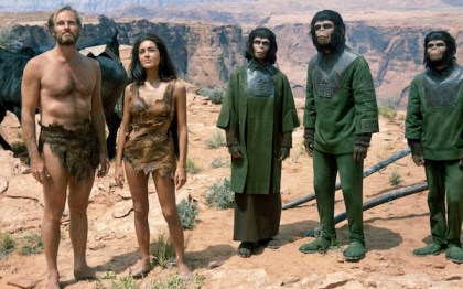 Planet of The Apes. Apes being people