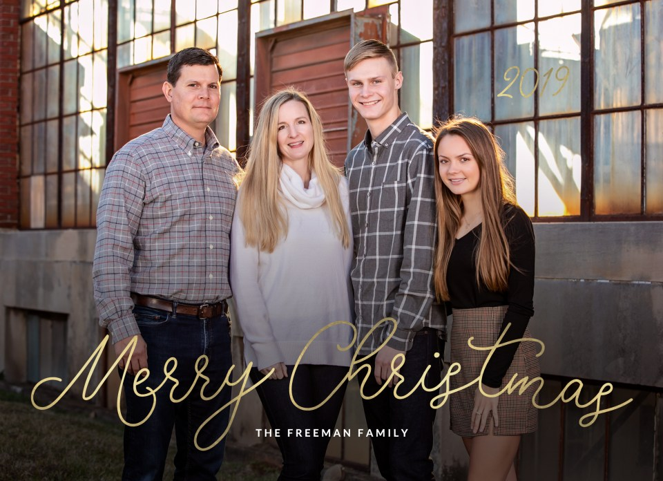 Freeman Family - Mooresville - Holiday Card