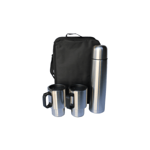 126-46 Flask with 2 cups and bag gift set