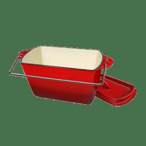 145-38 red bread pot_
