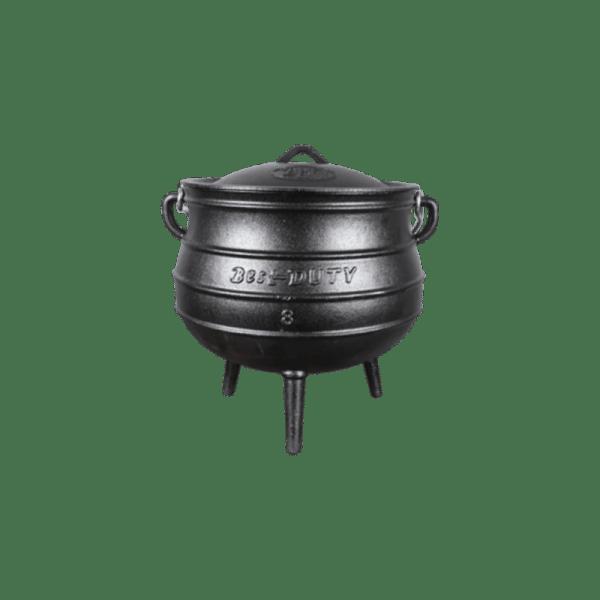 Best Duty Pot (3-Leg) #8 Size 18.5L 114-9