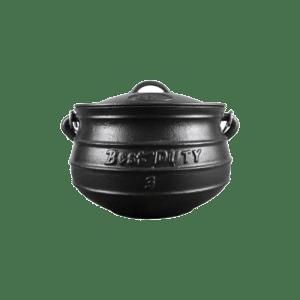 Best Duty Pot (Flat) #3 Size 7.8L 114-19