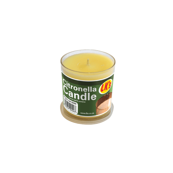230-003 Citronella Candle (Poly Carb.)