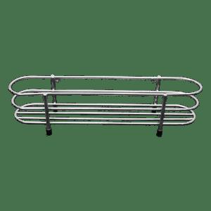 320-019 Chrome 1-Tier Spice Rack