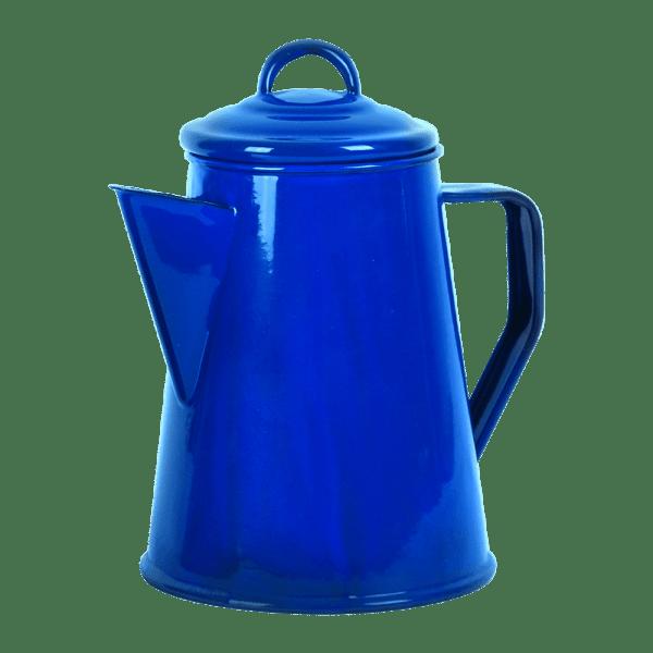 225-301 Blue Enamel Coffee Pot