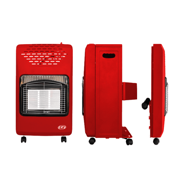 420-006 - Gas Heater Roll About - Red