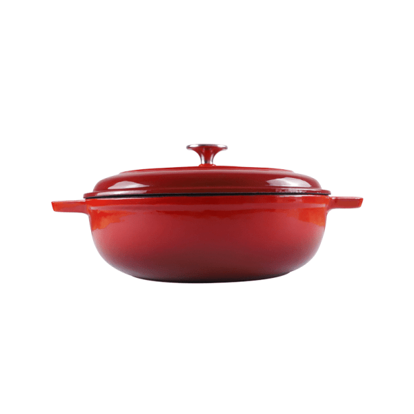 160-041 - red casserole dish 1