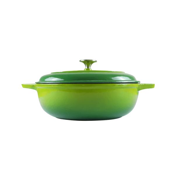 160-042 - green casserole dish 1