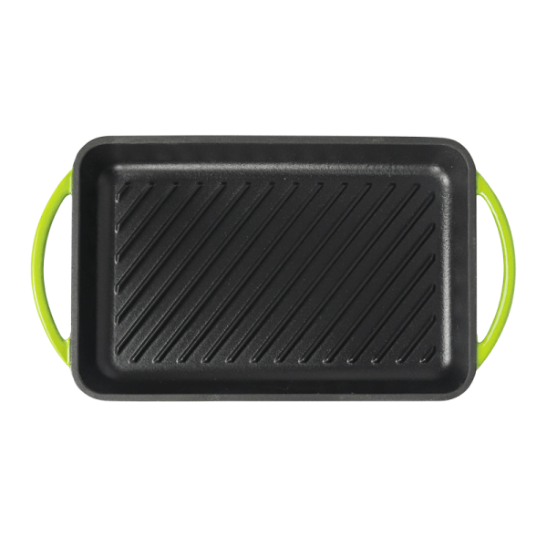 160-112 green grill plate 1