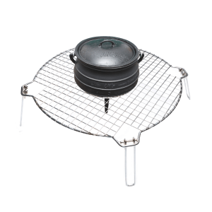 107-36 campfire grid & potjie stand