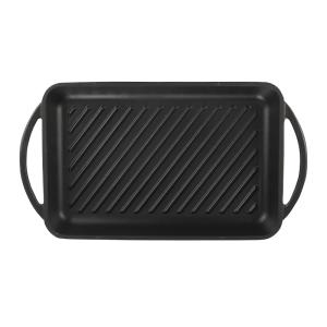 160-116 - Chef grill plate matte black2