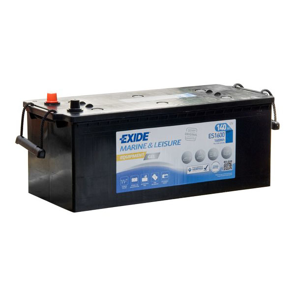 140AH EXIDE EQUIPMENT GEL MARINE