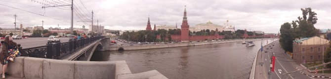 A View of the Kremlin from the River