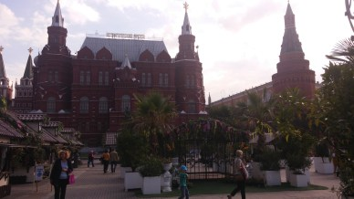 A view towards the Red Square