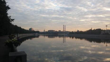City waking up
