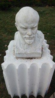 angry looking Lenin