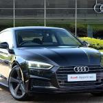 Nearly New A5 Audi Coup Black Edition 35 Tfsi 150 Ps S Tronic 2019 Lookers