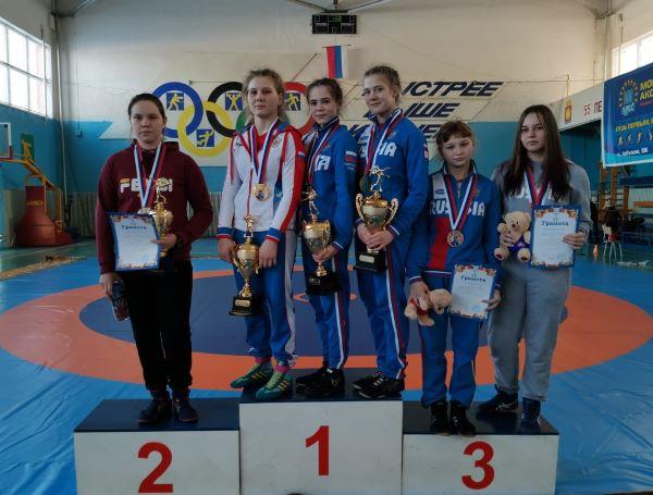 Алена Сухарева -1 место
