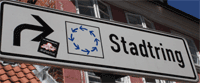 Schild Stadtring Lüneburg