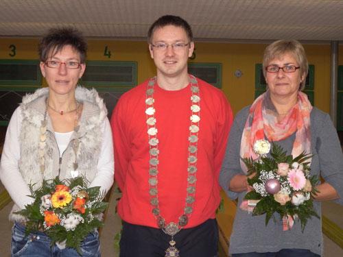 Könige und Königinnen 2013 v. l. Claudia Bartels, Marcel Dubbe, Heike Lühr-Böke (Wilfried Resemann fehlt)