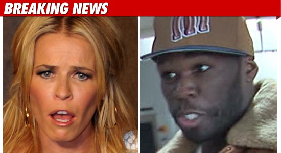 Chelsea handler and 50 cent hookup again