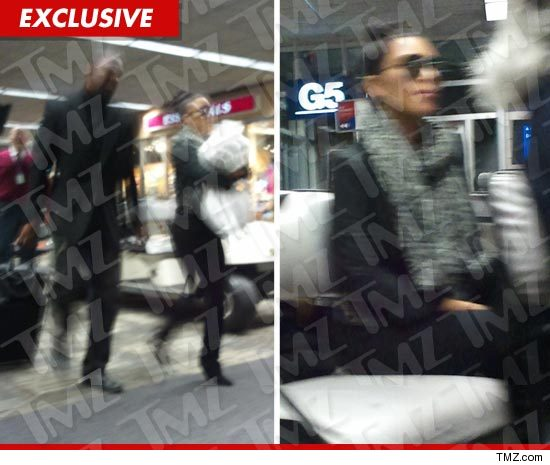 Kim Kardashian leaves for Minnesota