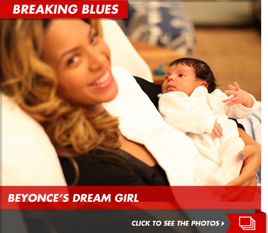Beyonce and Jay Z have finally posted photos of Blue Ivy Carter