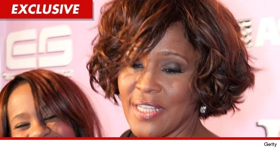 Whitney Houston was found in the bathtub of a Beverly Hills hotel yesterday ... with her face underwater