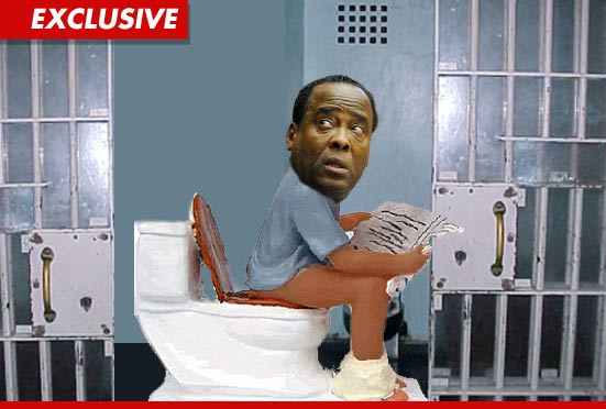 Dr. Conrad Murray has dumped 30 pounds because he is pooping out his guts