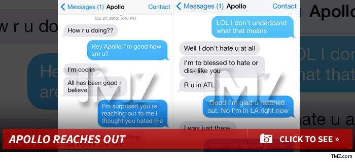 Kenya Moore And Apollo Text Messages Kena Moore – ...