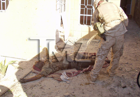 Marines Burn Bodies