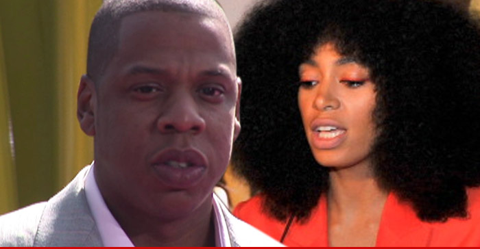 Jay Z and Solange Knowles Jewelry Shopping Together