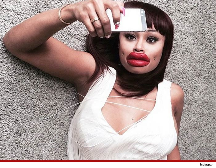 Blac Chyna Kylie Jenner Lips