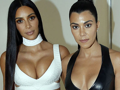 Kourt Nearly Flashed Her Lady Bits In CRAZY Revealing Dress Before Kim's Robbery!