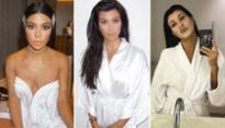 9 Hot Pics of Kourtney Kardashian in a Robe to Get Your Lazy Weekend Started