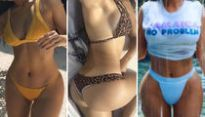 Guess the Kardashian Curves ... See the Shapely Sisters!