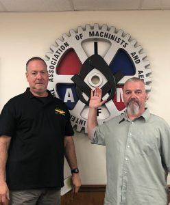 Ken Goddard is sworn in as Vice President by President Howard Ferguson