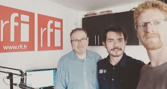 Entrevista en Radio Francia Internacional