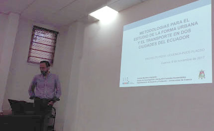 Presentación del proyecto Redu-Fut en la Ronda de Intercambios DIEP