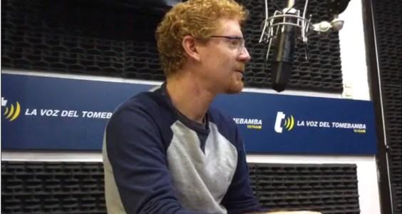Entrevista sobre movilidad en Radio La Voz del Tomebamba