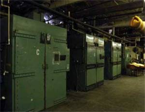 Optical Forming Department 12 Walk In Ovens