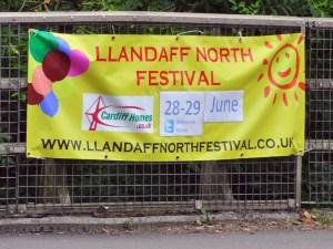 Llandaff North Festival 2014 banner