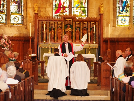 Induction of Andrew and Mary