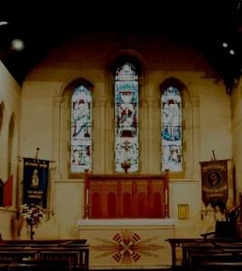 Memorial Chapel window