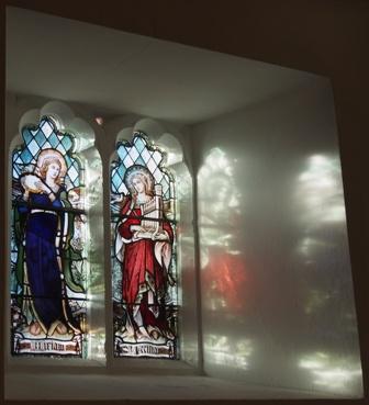 Miriam & St. Cecilia window