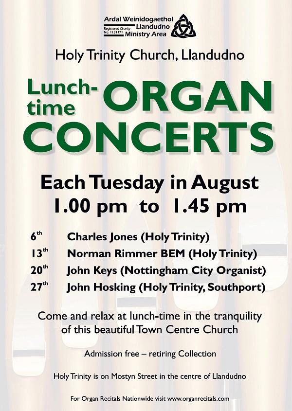 Organ concerts poster