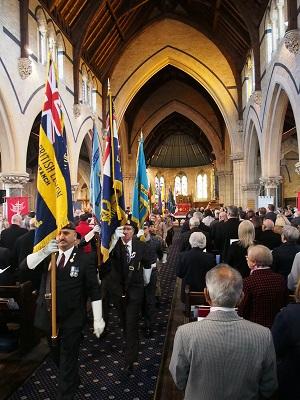 Remembrance Sunday service