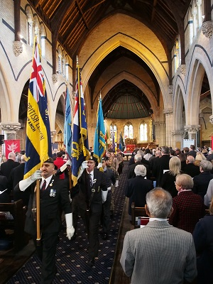 Remembrance Sunday service