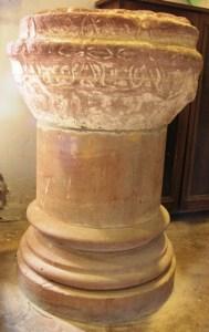 St. Tudno's font