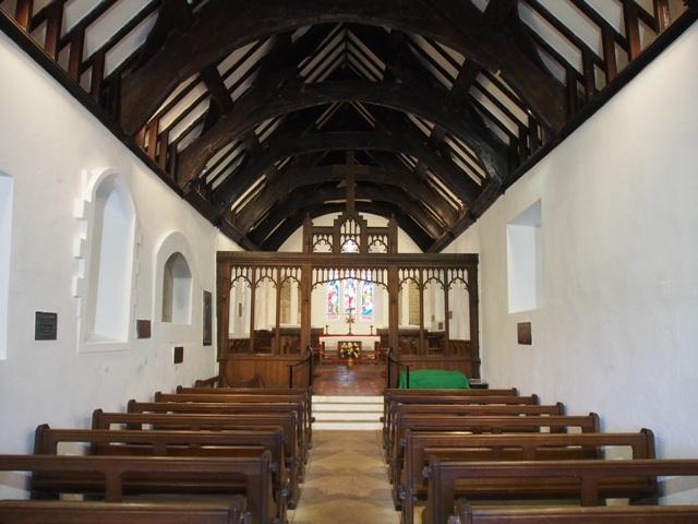Interior of St. Tudno's Church